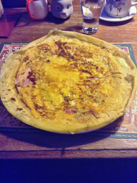 Bacon and Cheese Pannekoek